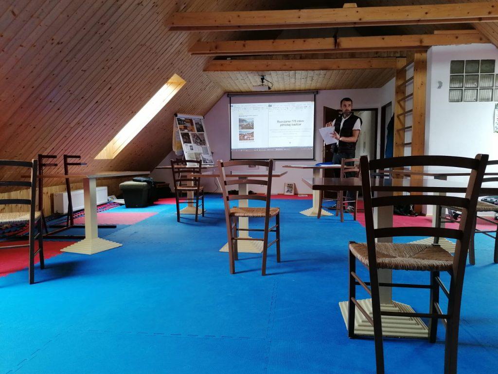 Pltnícka akadémia 2021 - prednášková miestnosť