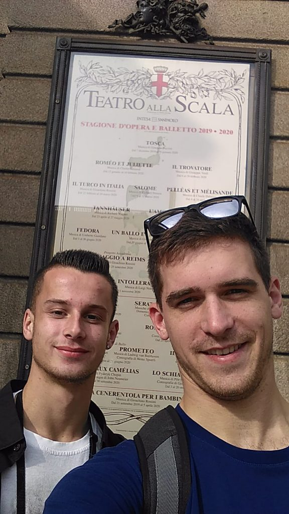 Pltnícka akadémia - Miláno La Scala