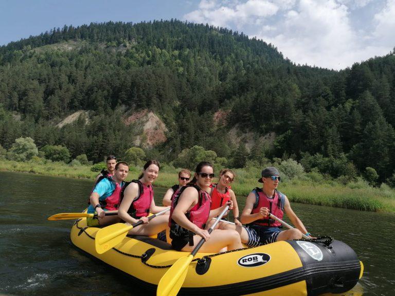 Rafting na Dunajci Pieniny