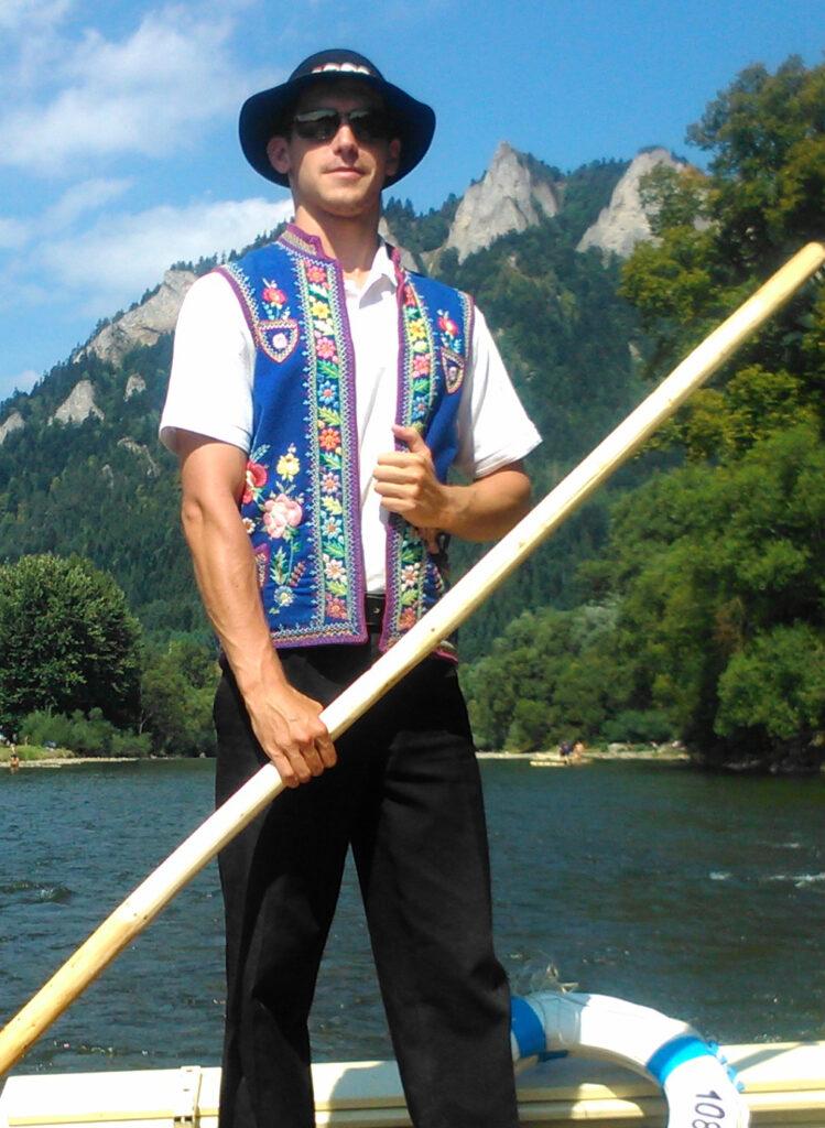 Pltnik na Dunajci Splav Dunajca na pltiach